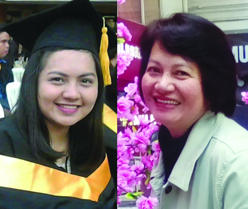 Daughter fulfills her OFW mom's only dream