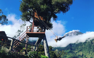 """""""Swing at the end of the world"""" brings thrill-seekers for a ride 8,500 ft. above sea level"""