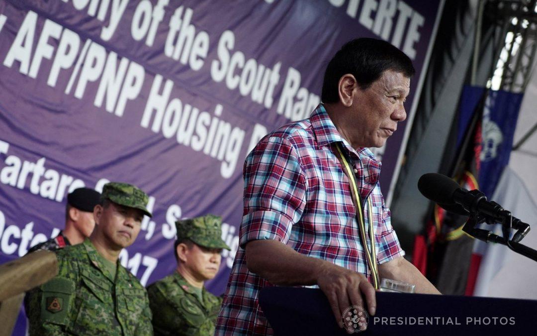 Duterte made PDEA sole agency on 'war on drugs'
