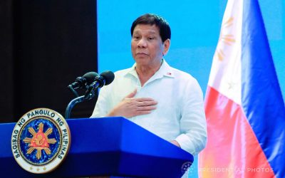 Duterte vows to only stay within the limit of his term