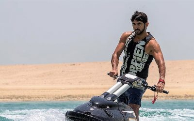 Sheikh Hamdan urges police to join 30-day fitness challenge