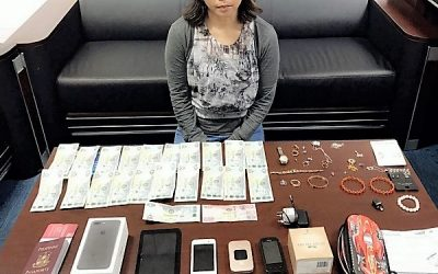 Asian maid arrested in Dubai after stealing Dh27,900 worth of cash, jewelry from employer