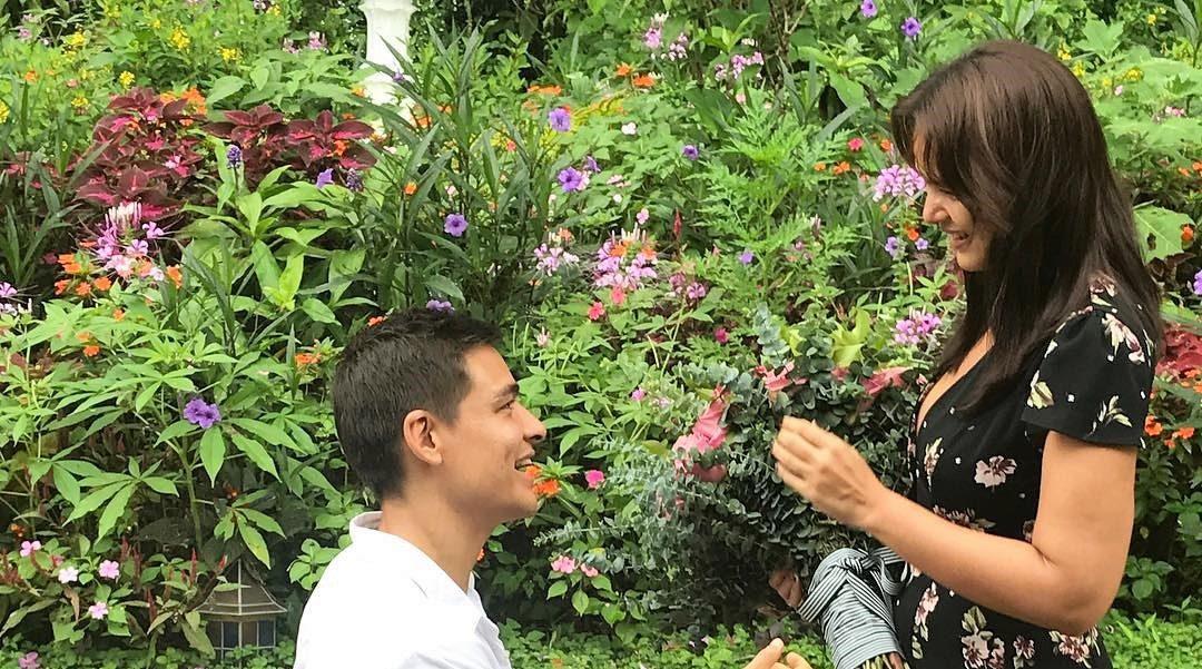 WATCH: Ben Wintle proposes to Iza Calzado