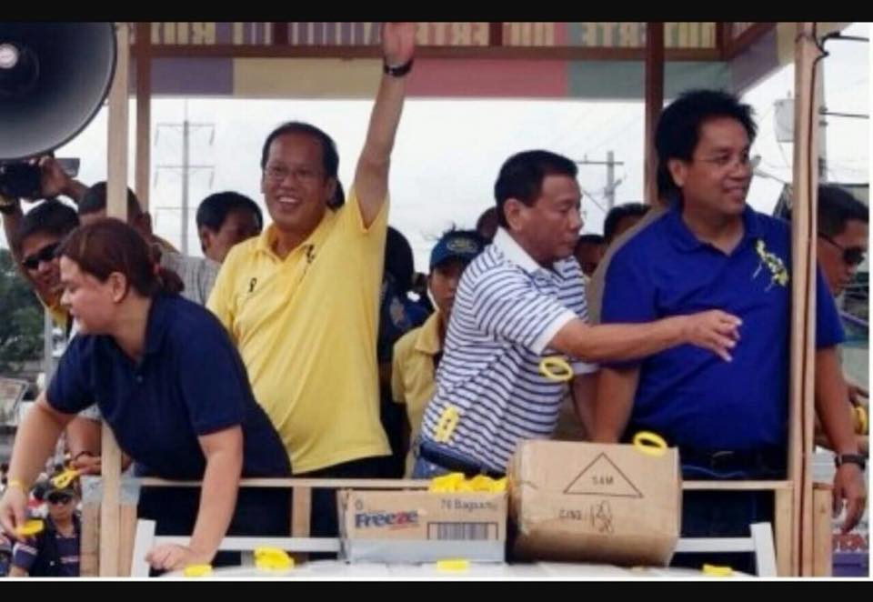 Sara Duterte fires back on viral photo with Noy, Mar