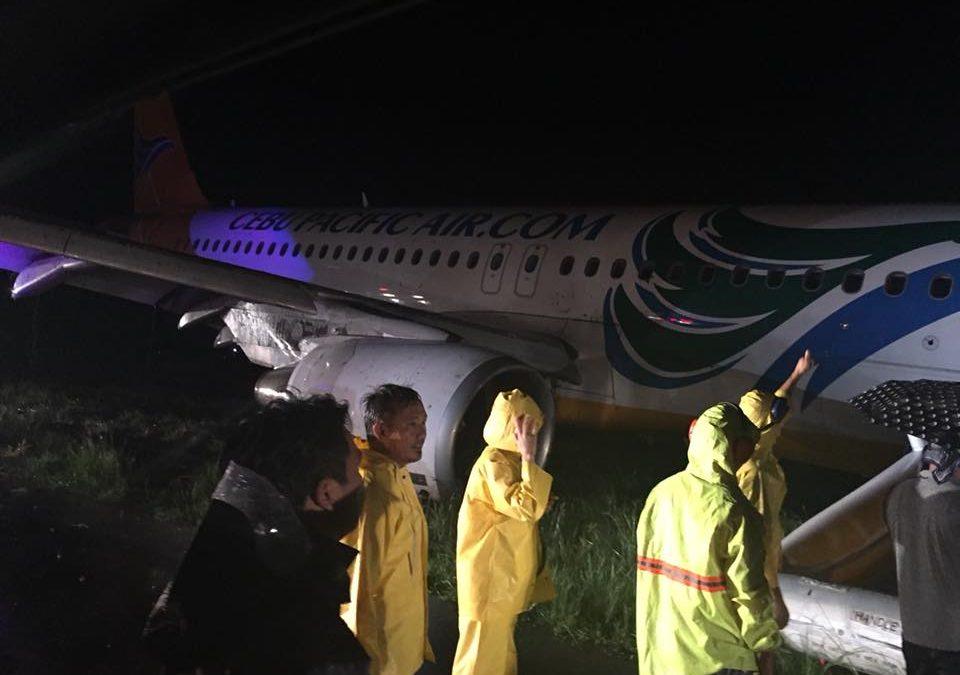 Cebu Pacific plane overshootsIloilo airport runway; all passengers safe