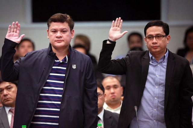 Gordon recommends lifestyle check on Paolo Duterte, Mans Carpio