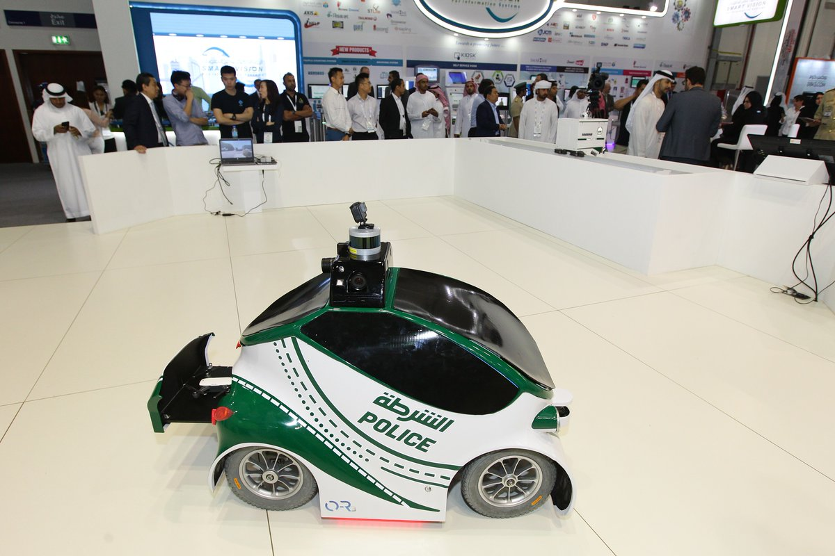 Dubai Police Unveils Robocop Flying Bike At Gitex The