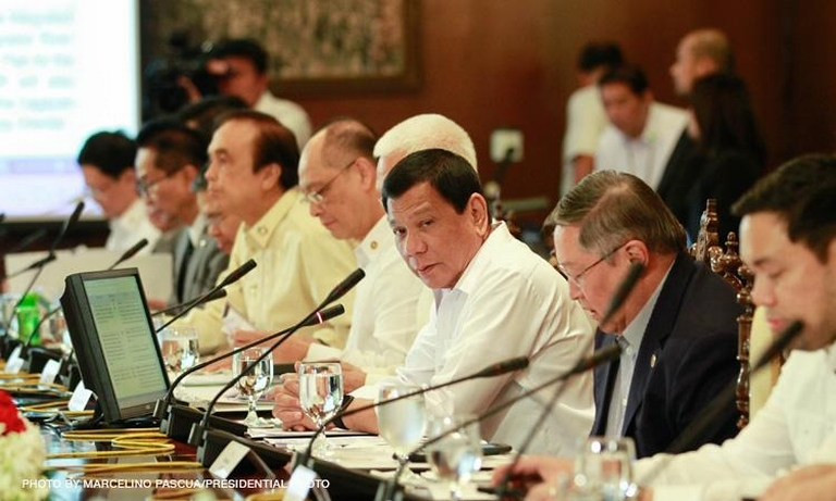 Majority of Duterte cabinet members to donate 75% of salary to help COVID-19 fight