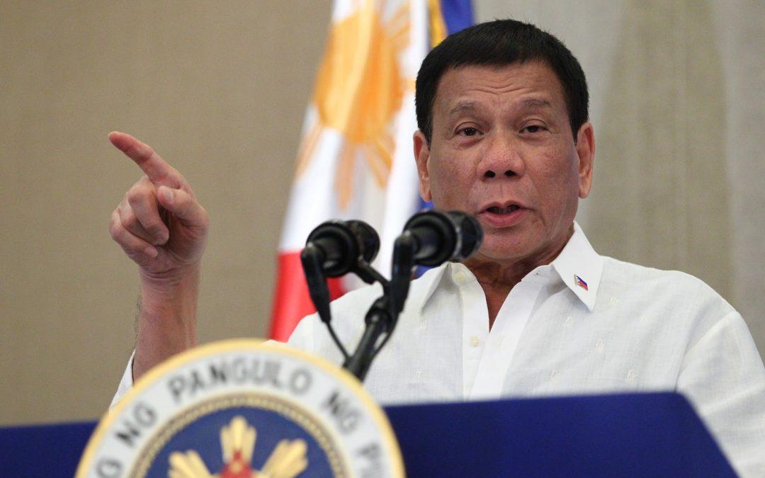 Duterte orders clampdown on illegal recruiters