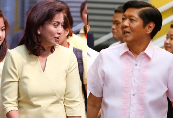 Robredo scoffs at Marcos' claims that he will replace her as VP in 2 months