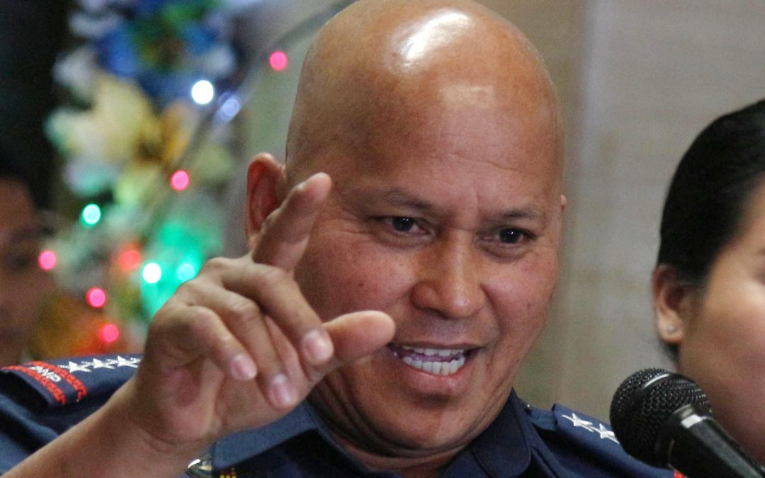 Duterte to extend PNP chief Dela Rosa's term for 3 months