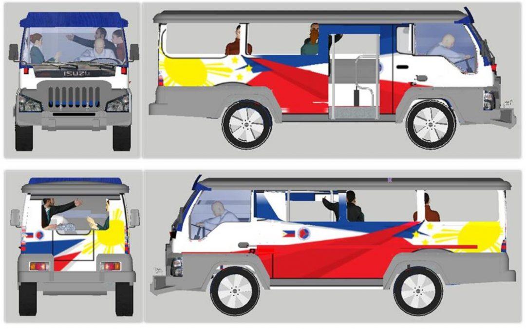 LOOK: Modern jeepneys unveiled
