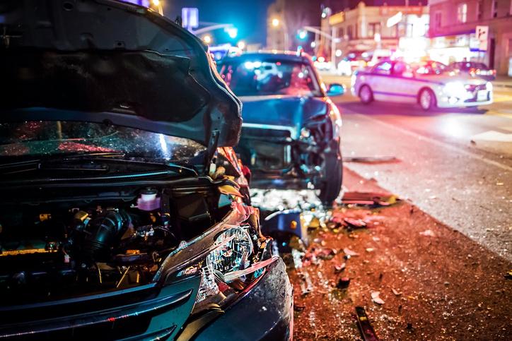 Lovers' quarrel over politics turns into car accident