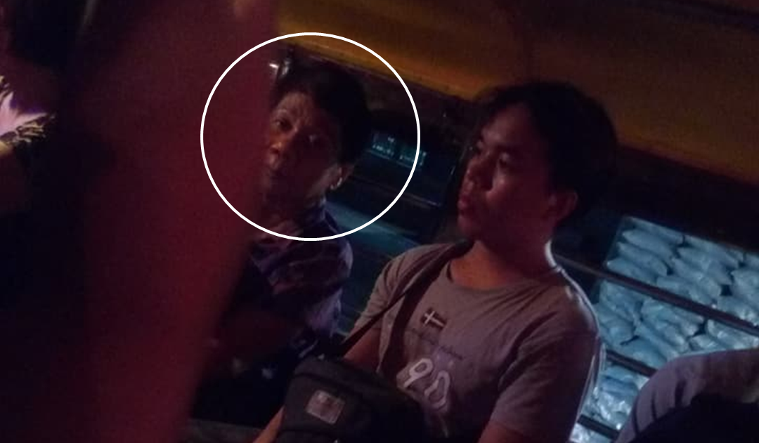 'Duterte' spotted in a jeep?