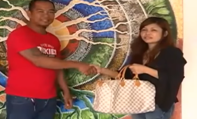 Honest taxi driver returns bag with P900,000 to OFW owner