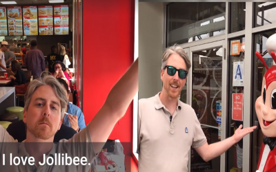 WATCH: 'Business Insider' host tries Jollibee for the first time
