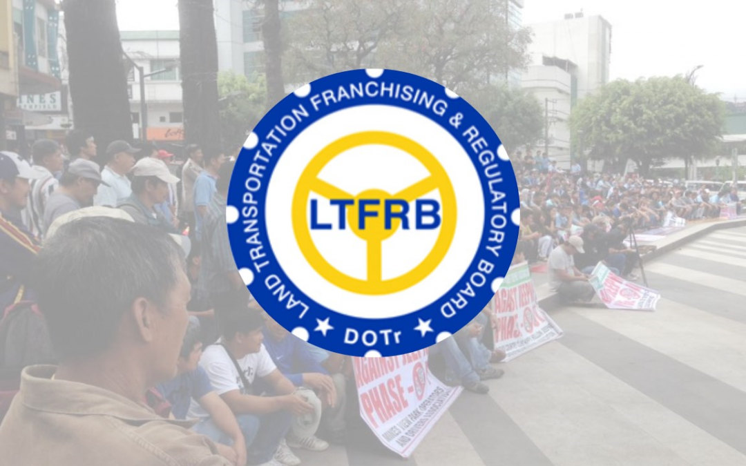 LTFRB to cancel franchises of operators who joined 2-day transport strike