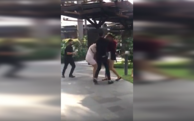 VIRAL: Two women catfight over a man at Makati mall