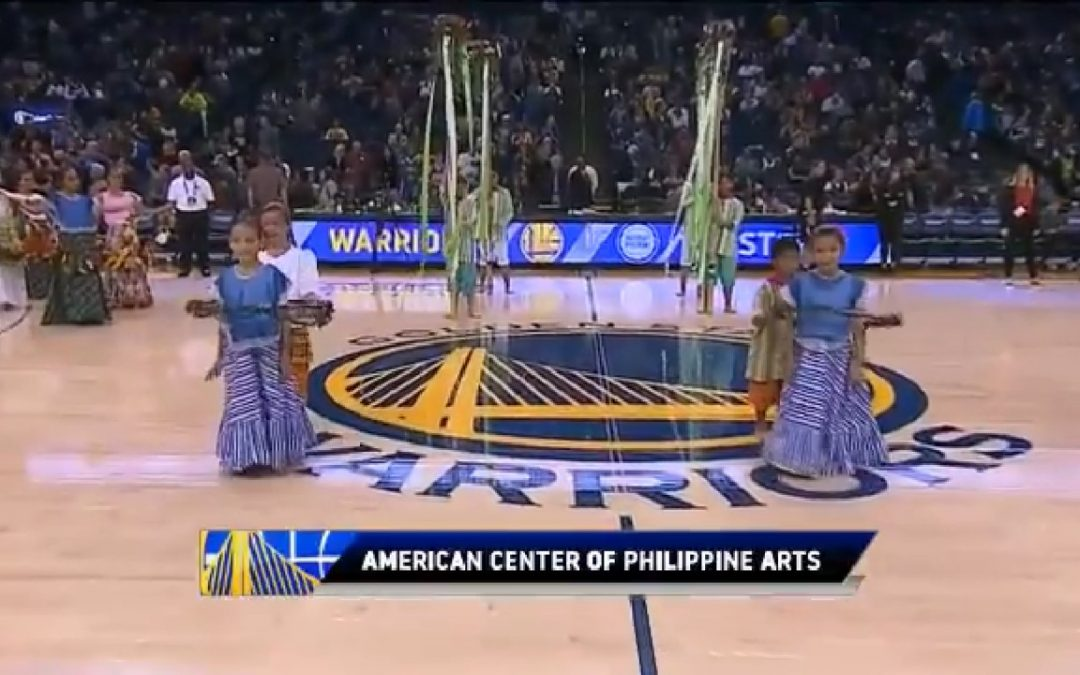 WATCH: Pinoy kids perform folk dance at NBA game
