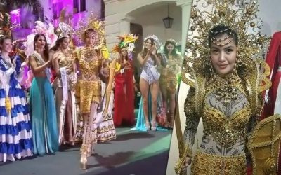 LOOK: Wyn Marquez stands out in Pintados-inspired national costume