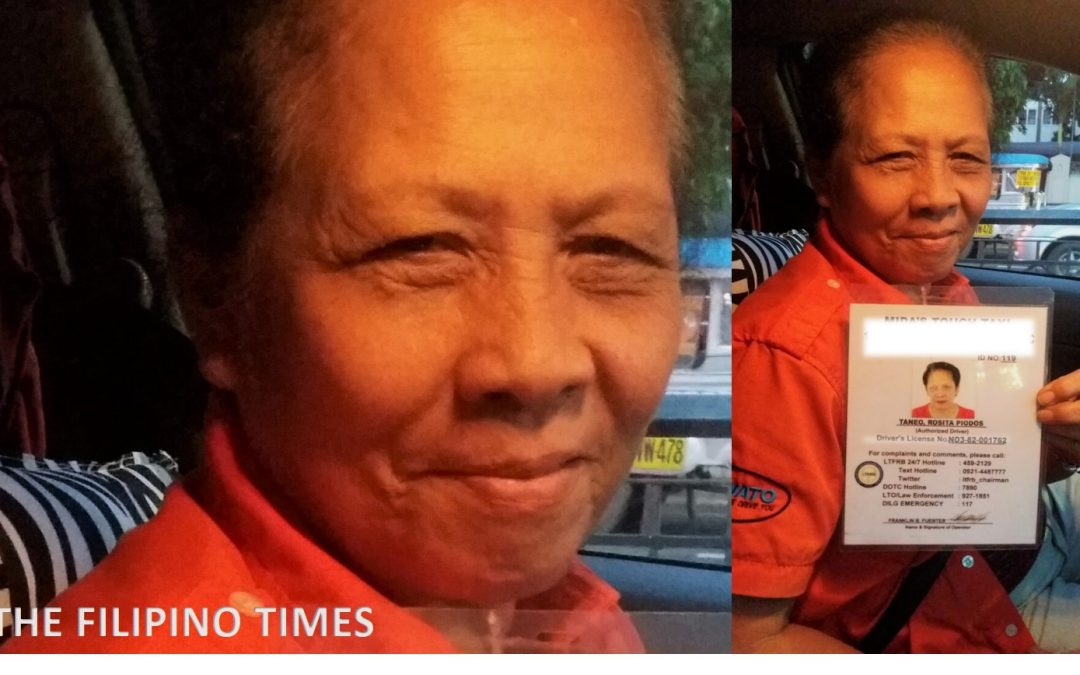 From UAE to Manila: Meet 62-year-old Filipina taxi driver