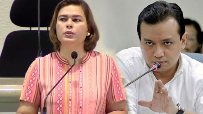"""You'll spend billions to make me insignificant,"" says Sara to Trillanes"