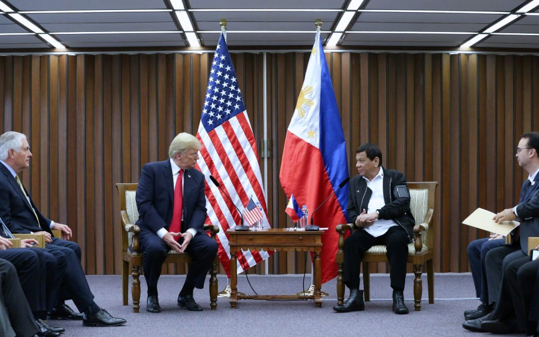 WATCH: Trump refers to Duterte by first name; lauds US-PH 'great relationship'