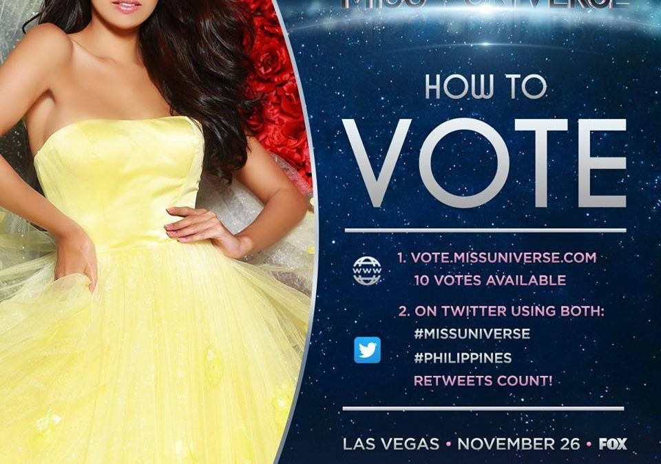 How can you help bring Rachel Peters a step closer to the crown?