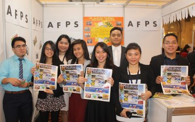 We are where you are. Happy people read The Filipino Times. How about you?