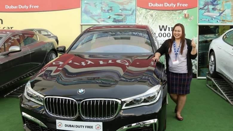 Filipina wins BMW at Dubai Duty Free Airshow