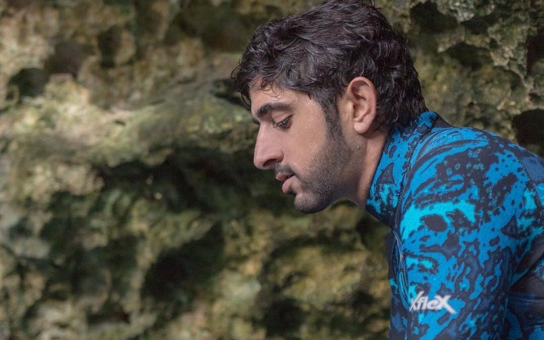 WATCH: Sheikh Hamdan goes cave diving