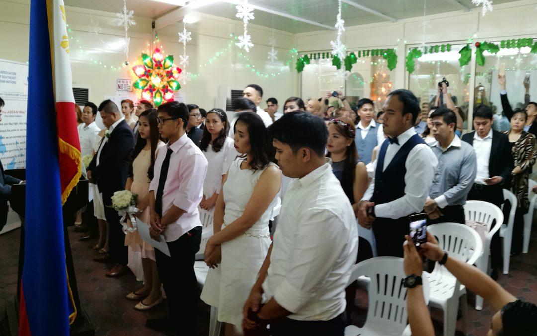 Weddings and Vows: Mga bagong kasal ng Abu Dhabi