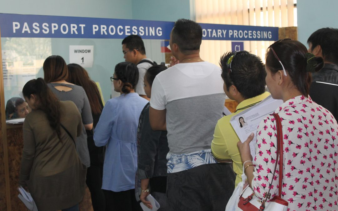 46 PCG staff providing services to 500,000 OFWs