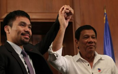 Duterte: 'I want to make Pacquiao the next president'