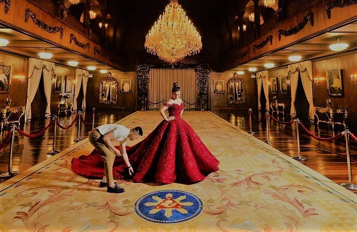 Meet the Dubai-based Pinoy designer behind Isabelle Duterte's debutante gown