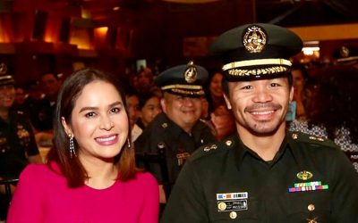 Manny Pacquiao has been promoted to full colonel of Philippine Army