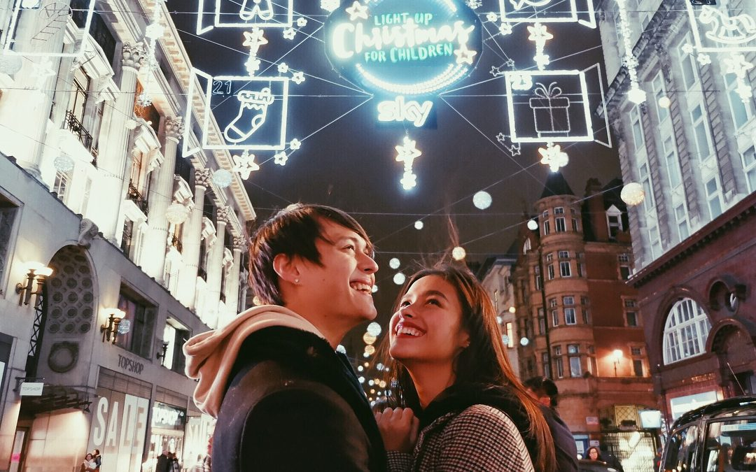 Look how LizQuen celebrated Christmas in this city