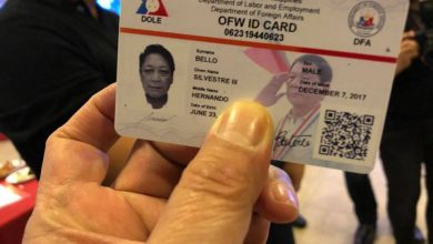 Photo of Solon warns OFWs against counterfeit iDOLE cards