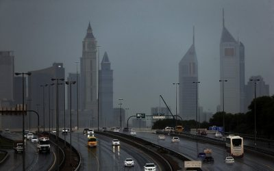 Residents express delight as rainfall, flood lash UAE