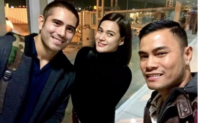 Gerald, Bea spotted US-bound for Christmas