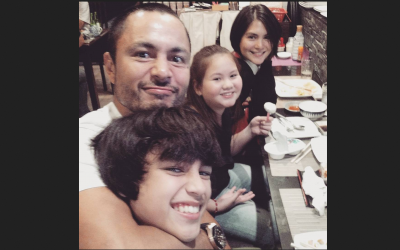 Derek Ramsay's son comes home from Dubai to spend Christmas in PH