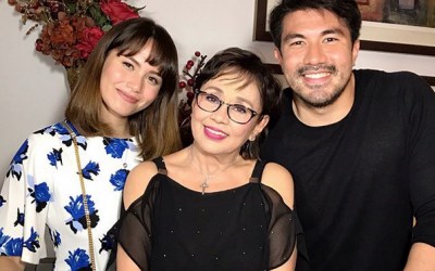 Jessy Mendiola visits Lucky's parents