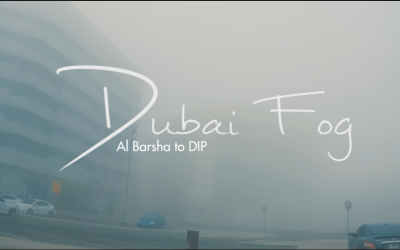 Dubai Fog – a video shoot from Al Barsha to DIP. This is nice.
