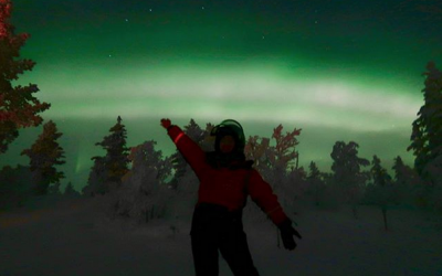 Kim Chiu, Xian Lim amazed by 'Aurora Borealis' in Finland