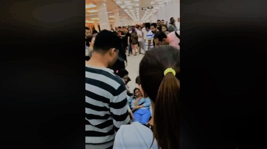 Pinay collapses amidst 'mad rush' at Deira City Centre