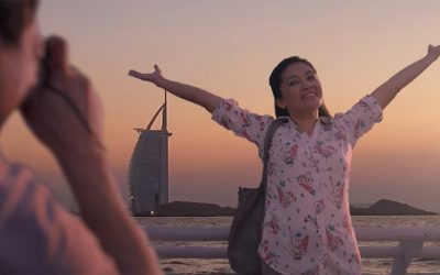 Jollibee's tear-jerker Christmas commercial shot in Dubai