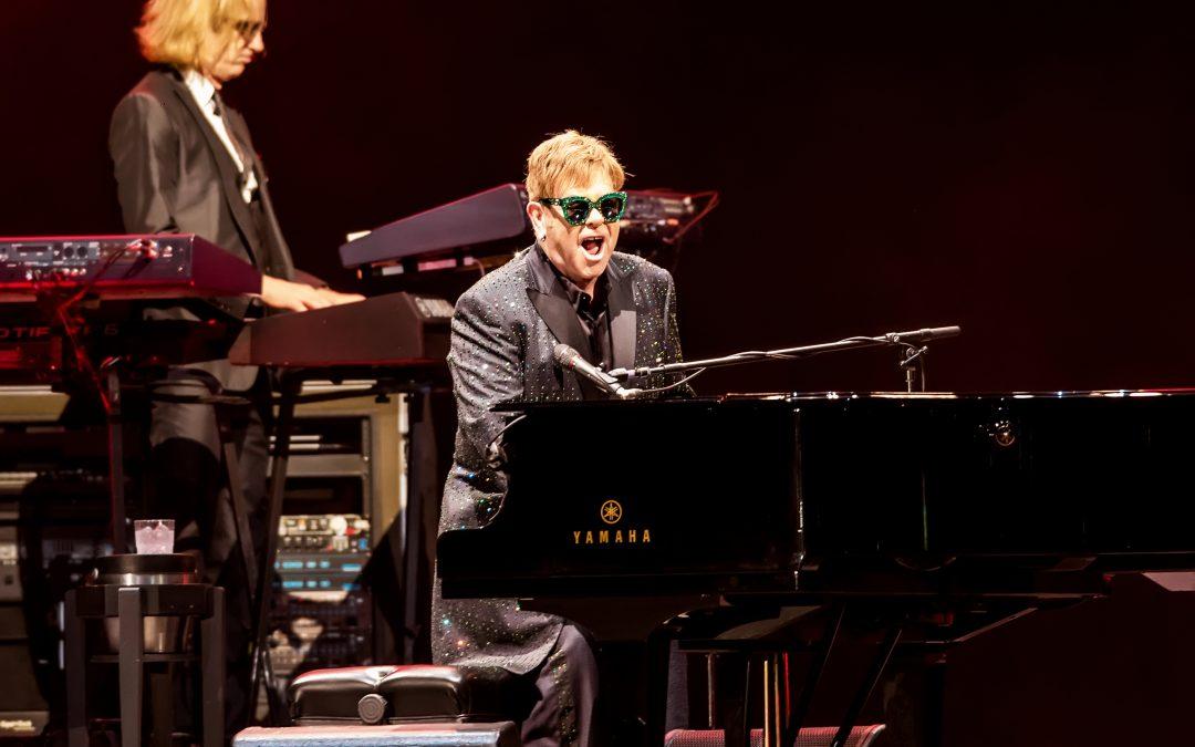 Sir Elton John showcases huge repertories of hits at Dubai's Autism Rocks Arena