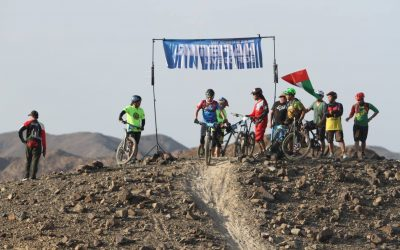 Close to 200 mountain bikers break trail at RAK showdown