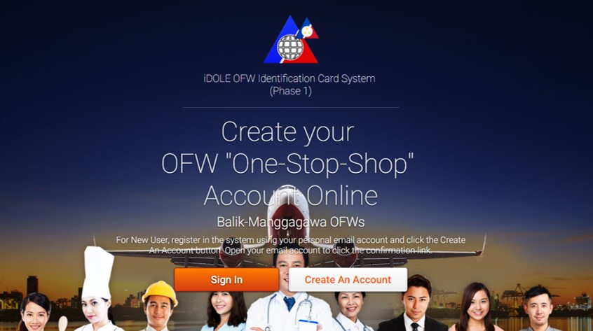 Initial phase of OFW ID application starts today