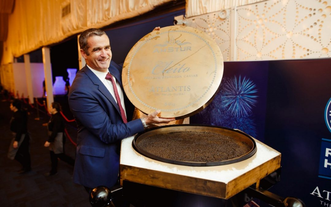 Largest caviar in Dubai smashes world record